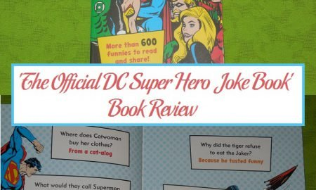 'The Official DC Super Hero Joke Book' Book Review