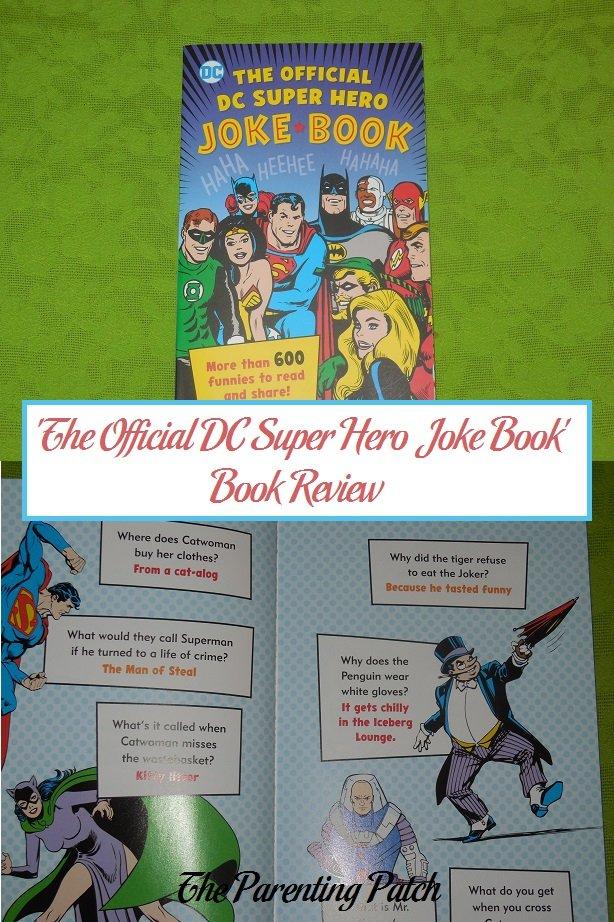 'The Official DC Super Hero Joke Book' Book Review