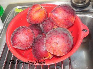 Peaches for Peach Crisp