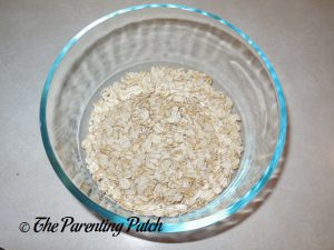 Oats for Peach Crisp