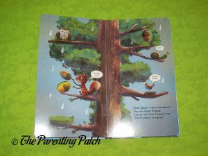 Inside Pages of Up, Up, Up in the Tree