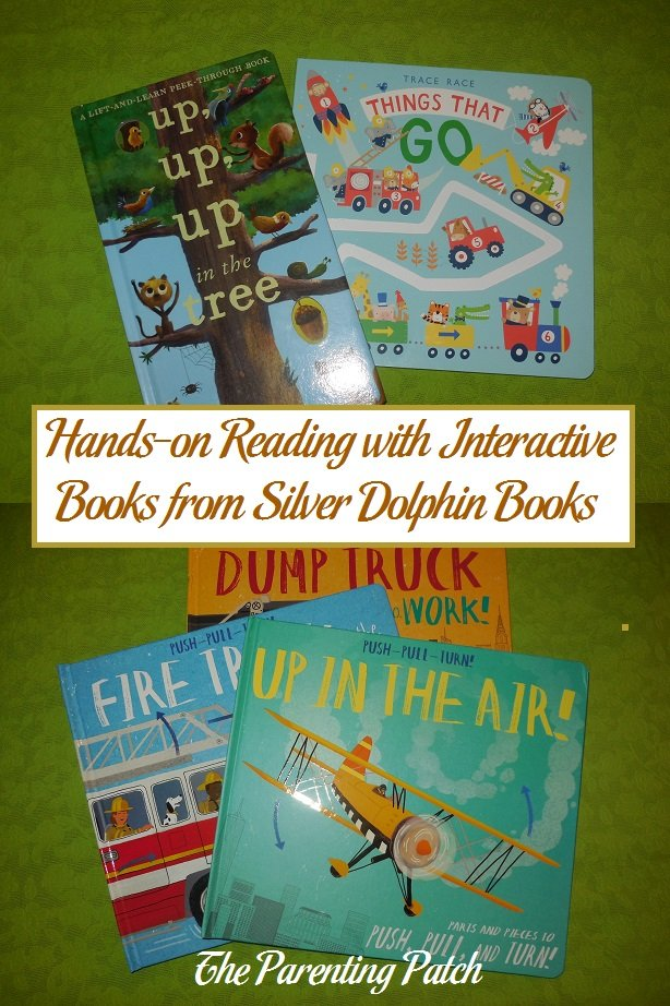 Hands-on Reading with Interactive Books from Silver Dolphin Books