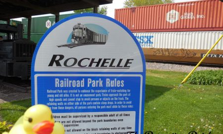The Duck and the Rochelle Railroad Park