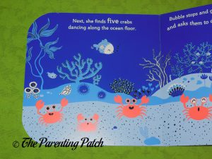 Inside Pages of Bubble's Ocean Friends