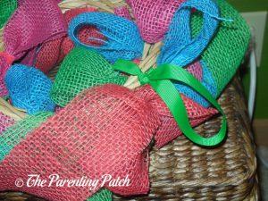 Ribbon Hanger on Burlap Ribbon Summer Flower Wreath Craft