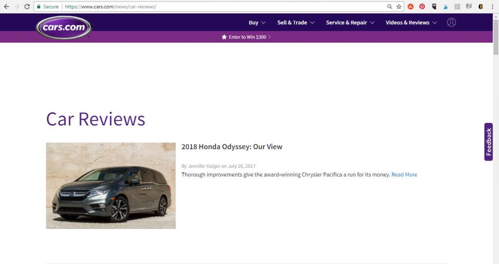 Cars.com Videos & Reviews