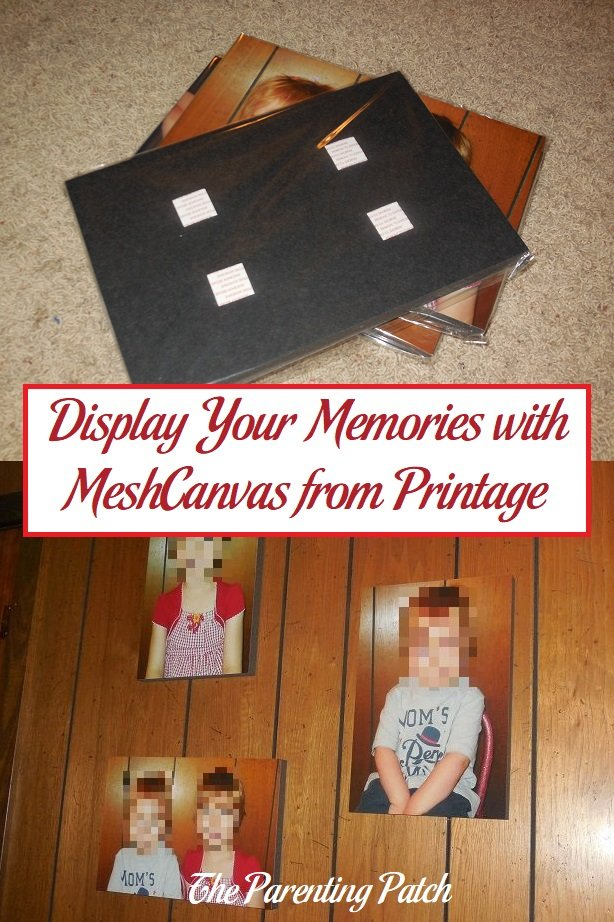 Display Your Memories with MeshCanvas from Printage