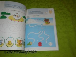 Inside Pages of Play Smart Skill Builders 3+