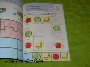 Inside Pages of Play Smart School Skills 4+