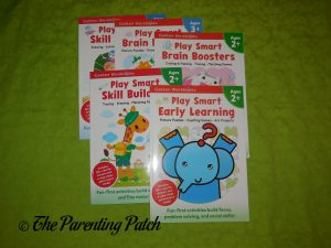 Play Smart Interactive Workbooks for Ages 2+ and 3+ from Gakken Workbooks