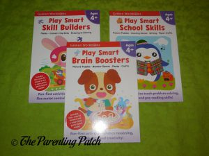 Play Smart Interactive Workbooks for Ages 4+ from Gakken Workbooks
