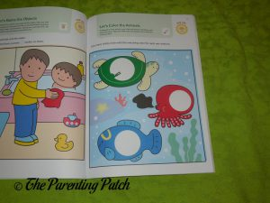 Inside Pages of Play Smart Early Learning 2+