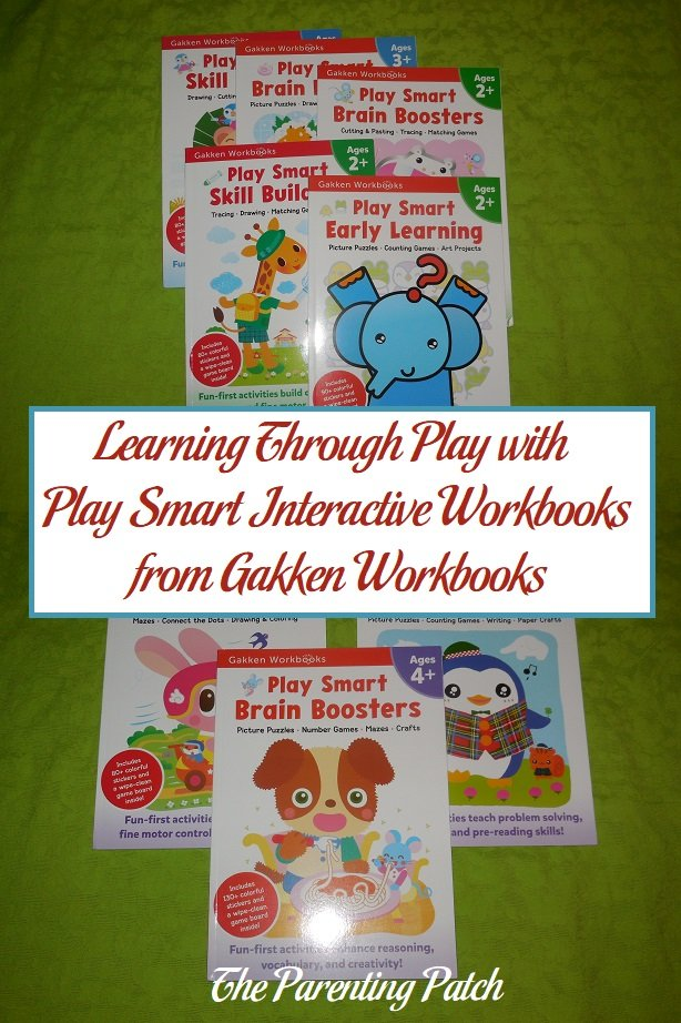 Learning Through Play with Play Smart Interactive Workbooks from Gakken Workbooks