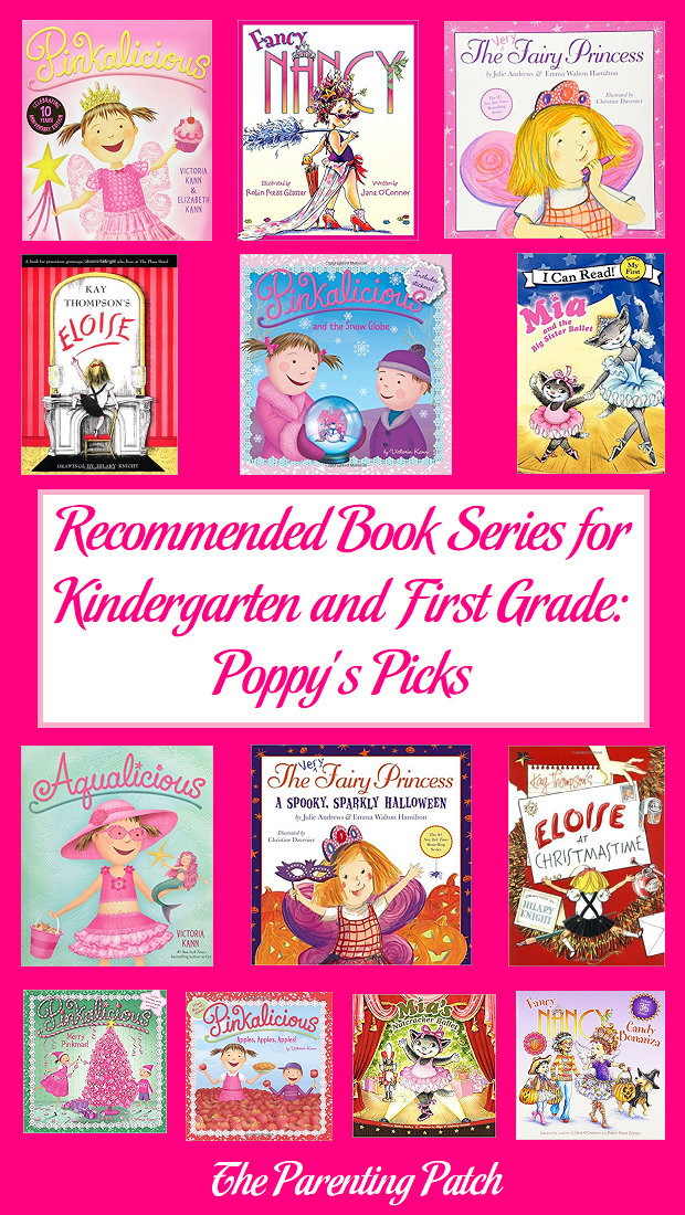 Recommended Book Series for Kindergarten and First Grade: Poppy's Picks