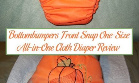 Bottombumpers Front Snap One-Size All-in-One Cloth Diaper Review