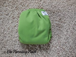 Back of Nicki's Diapers Ultimate All-in-One Snap Cloth Diaper