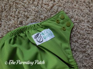 Hip Snaps of Nicki's Diapers Ultimate All-in-One Snap Cloth Diaper