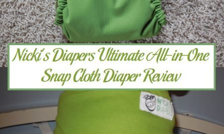 Nicki's Diapers Ultimate All-in-One Snap Cloth Diaper Review