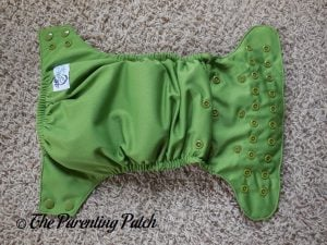 Exterior of Nicki's Diapers Ultimate All-in-One Snap Cloth Diaper