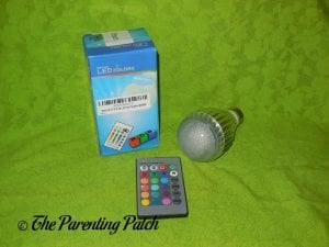 Etrech Color Changing Dimmable RGB LED Light Bulb with Box 1