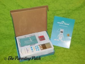 Opening the Easy@Home TENS Handheld Electronic Pulse Massager
