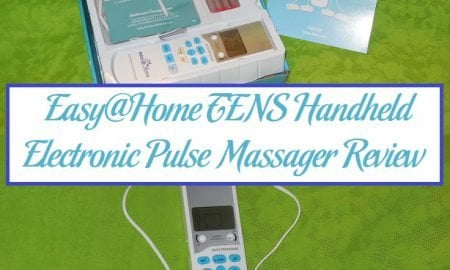 Easy@Home TENS Handheld Electronic Pulse Massager Review