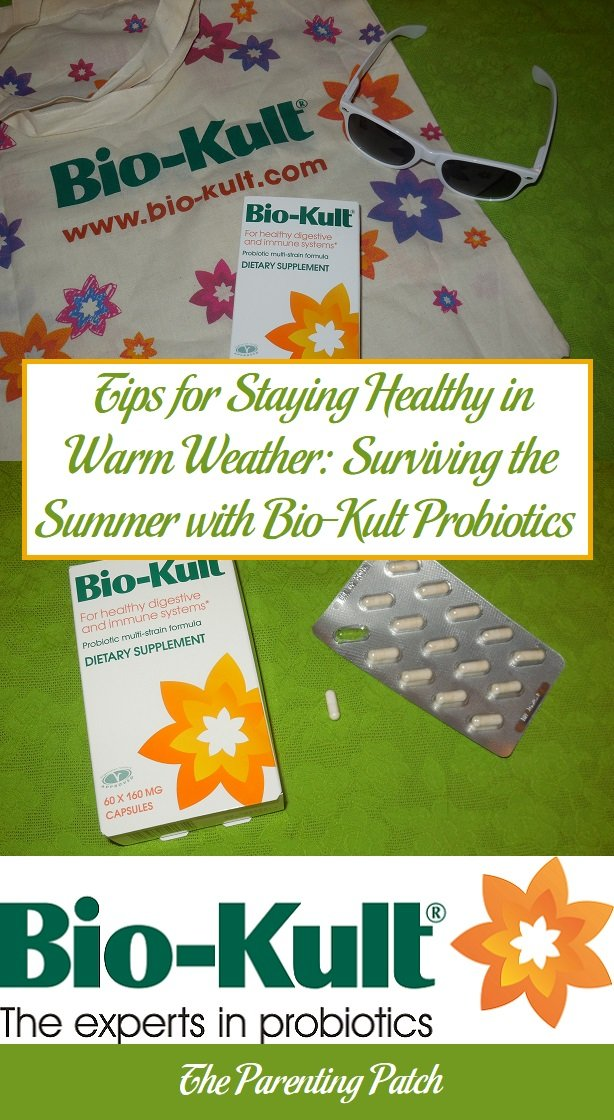 Tips for Staying Healthy in Warm Weather: Surviving the Summer with Bio-Kult Probiotics