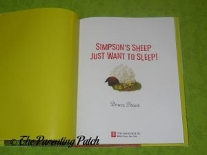 Inside Pages of 'Simpson's Sheep Just Want to Sleep!' 1