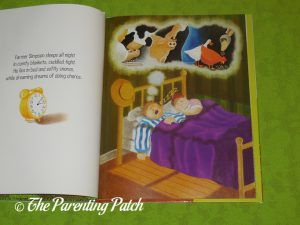 Inside Pages of 'Simpson's Sheep Just Want to Sleep!' 2