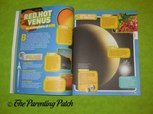 Inside Pages of 'National Geographic Kids Ultimate Space Atlas' 2