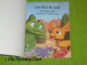 Inside Pages of 'Cutie Meets Mr. Lizard' 1