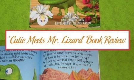 'Cutie Meets Mr. Lizard' Book Review