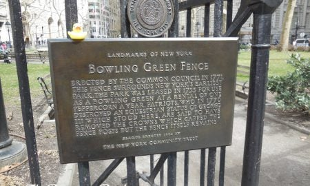 The Duck and the Bowling Green Fence