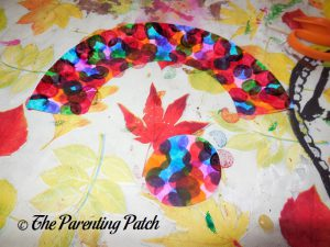 Decorated Pieces for C Is for Caterpillar Paper Plate Craft