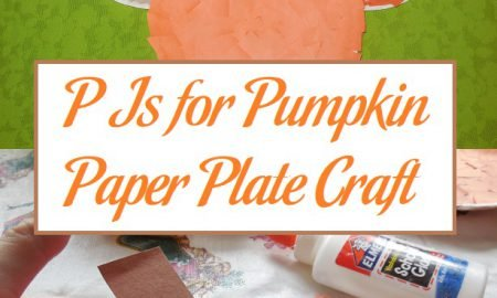 P Is for Pumpkin Paper Plate Craft