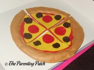 Sausage for Felt Pizza Toy
