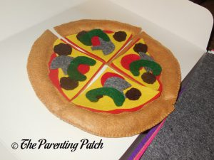 Green Peppers for Felt Pizza Toy