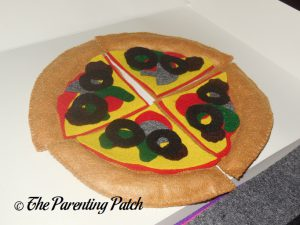 Black Olives for Felt Pizza Toy