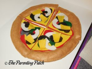 Pineapple for Felt Pizza Toy