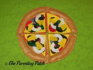 Toppings for Felt Pizza Toy