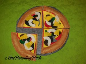 Felt Pizza Toy