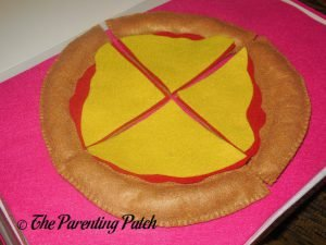 Cheese for Felt Pizza Toy