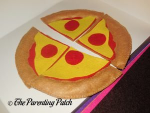 Pepperoni for Felt Pizza Toy