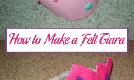 How to Make a Felt Tiara