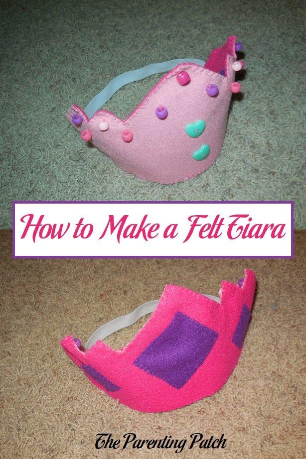 How to Make a Felt Tiara