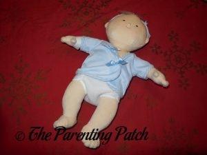Boy Baby Doll in Diaper