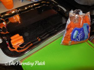 Carrots for Turkey Snack Platter