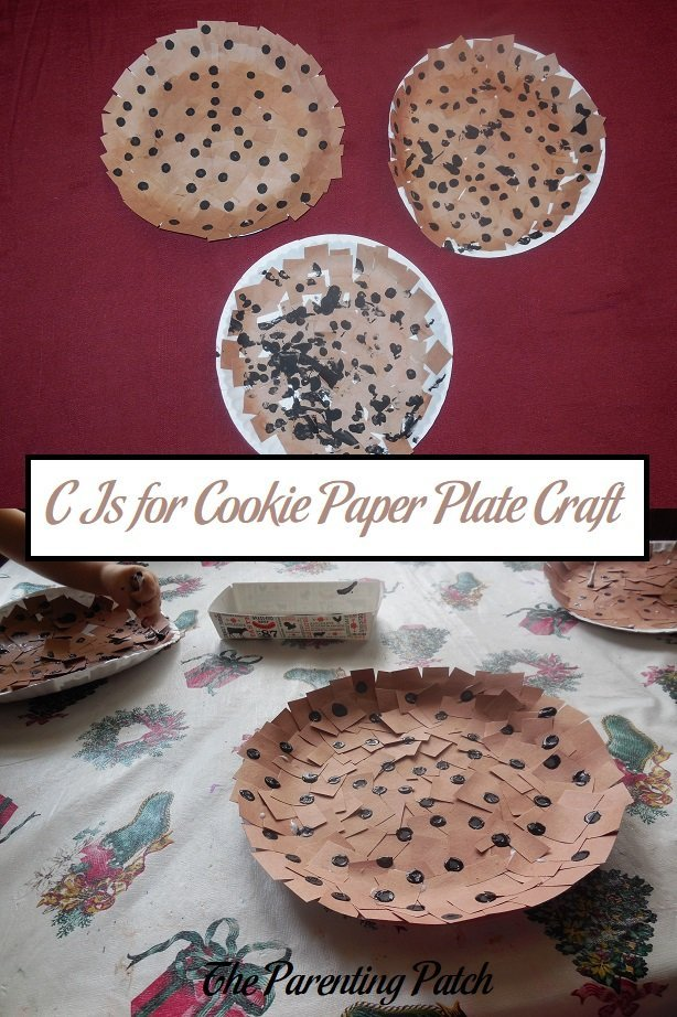 C Is for Cookie Paper Plate Craft