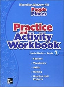 Macmillan McGraw-Hill People and Places Grade 1 Workbook
