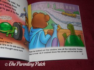 Inside Pages of 'Oogie's Rainy Day Adventure' 2